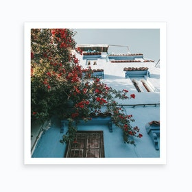 Chefchaouen Blues 2 Art Print