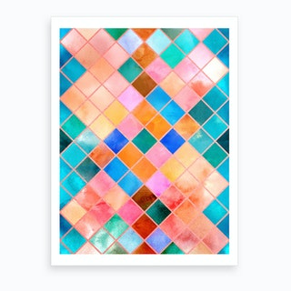 Geometric Xl Art Print