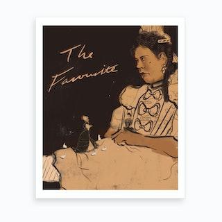 The Favourite Art Print