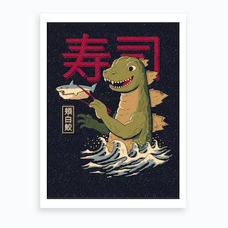 Monster Sushi Art Print