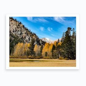 Autumn Meadow Art Print