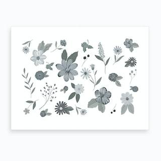 Gray Gardens Art Print