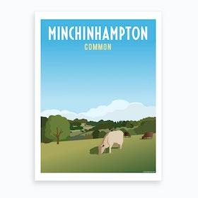 Minchinhampton Common Art Print