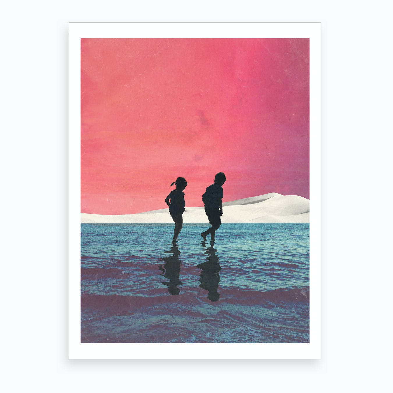 Until Dusk Art Print