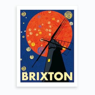 Brixton Windmill London Art Print