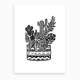 Botanical Pot Art Print