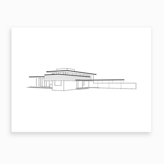 Gordon House Art Print