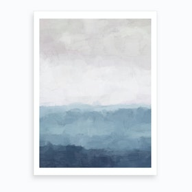 Misty Evening Art Print