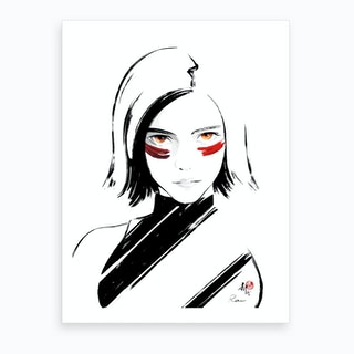 Alita 2 Art Print