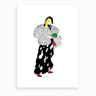 London Fashion Week  Art Print