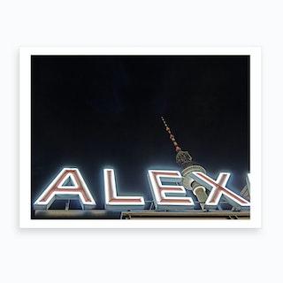 Alex 01 Art Print