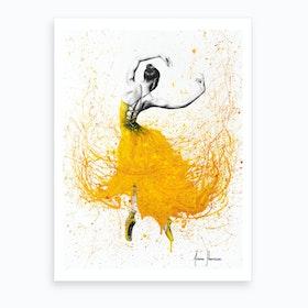 Daisy Dance Art Print