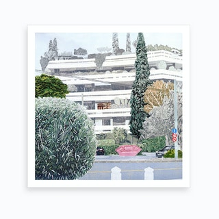 French Consulate In Athens Art Print