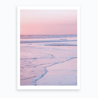 Soft Waves II Art Print