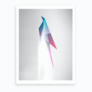 Origami Launch Art Print