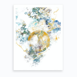 Nature's Call   Abstract Painting III Art Print