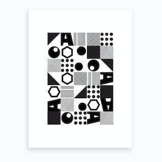 Geometric Ii Art Print