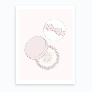 Powder Pink Art Print