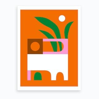 Terasse Art Print