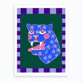 Stars Panther Cdpi Art Print