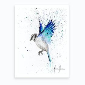 Tranquil Bird Art Print