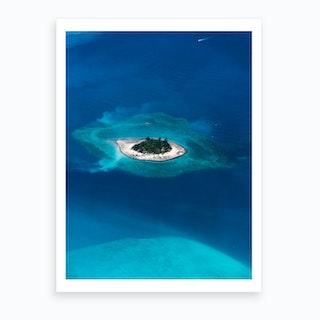 Desert Island Art Print