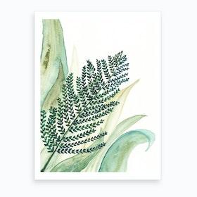 Botanical Vibes 2 Art Print