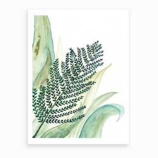 Botanical Vibes 2 Art Print