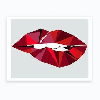 Aurora Lip Art Print