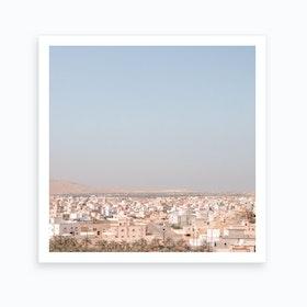 Oman City View Art Print