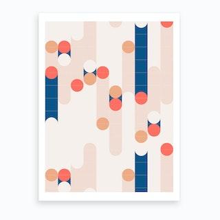 The Sound Of Tiles Art Print