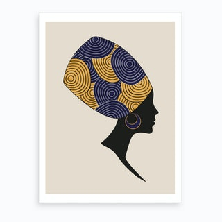 African Woman Art Print