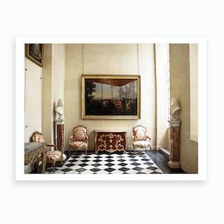 Palace Hallway Art Print