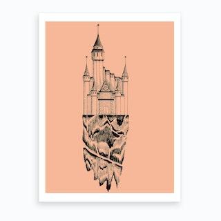 Lone Castle Art Print