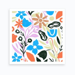 Floral Forest 2 Art Print