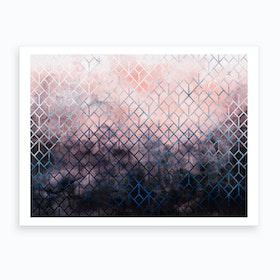 Geometric XI Art Print