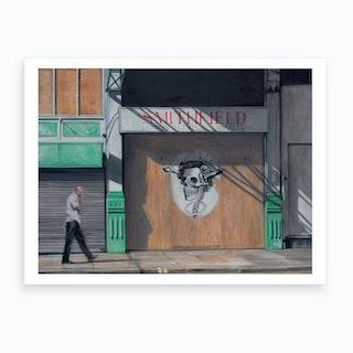 Smithfield Central Markets Art Print