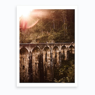 Nine Arch Bridge Art Print