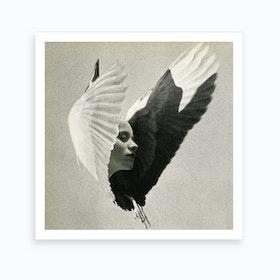 Free Listening Art Print