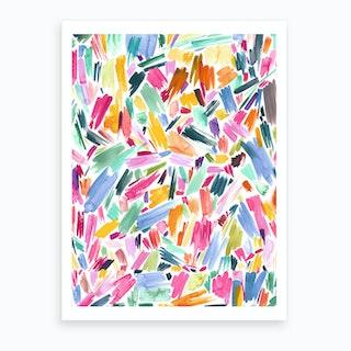 Artist Simple Pleasure Art Print