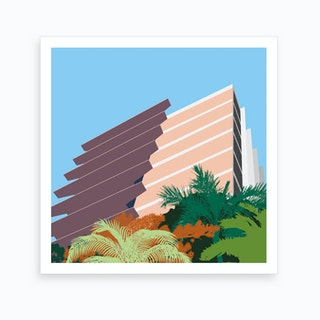 Sao Paulo 3 Art Print