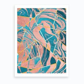 Geometric Xliii Art Print