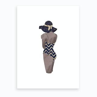 Fashion Swimsuit  1 Art Print