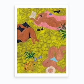 A Summer Day Art Print
