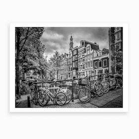 Amsterdam Flower Canal Art Print