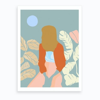 Moonbeam Art Print