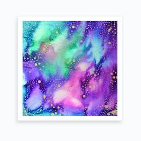 Cosmic Lights Art Print