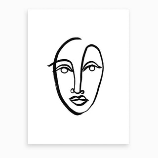 Faces 9 Art Print