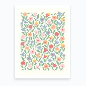 Meadow Day Art Print