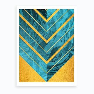 Geometric Xlii Art Print